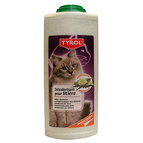 Tyrol Desodorante para Arena de Gato, eucalipto, 2 Libras