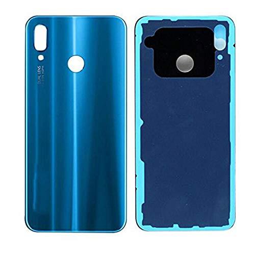 soliocial Trasera Tapa de Batería Battery Cover Carcasa para Huawei P20 Lite/Nova 3e Azul