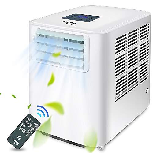 Mobiles Klimagerät 9000 BTU, MIC 4 In 1 Luftkühler/Luftentfeuchter / 3 Geschwindigkeiten Lüfter/Schlafmodus, Klimagerät Mobil mit Kältemittel R290, für Räume bis zu ca.35㎡(85m³)