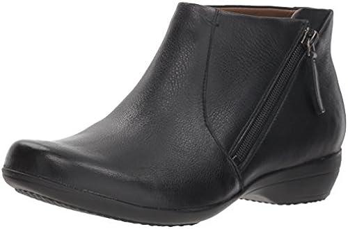 Dansko damen& 039;s Fifi Ankle Stiefel, schwarz Milled Nappa, 36 M EU (5.5-6 US)