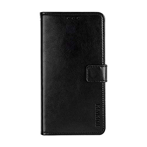 Manyip Case for Lenovo A5000, PU Leather Stand Wallet Flip Case Cover for Lenovo A5000,Business Style Phone protection shell,The case with[Cash and Card Slots]