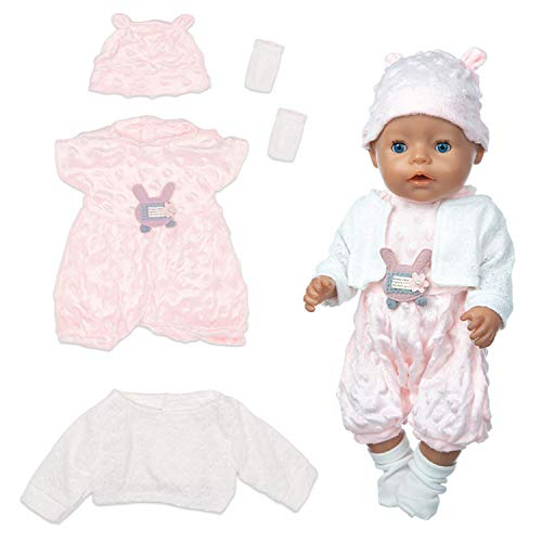ZEEREE Ropa para Muñecos Bebé New Born Baby Doll,...