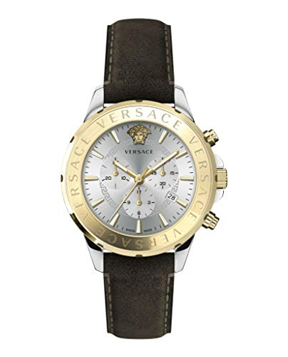 Versace Herren Armbanduhr Chronograph Chrono SIGNAT VEV6002 19
