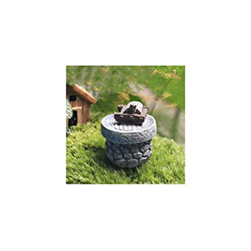 X-LSWAB Miniatura Fairy Accesorios de jardín Adornos Lindas Resina Sillas de Mesa Conjunto de Muebles para DIY Miniatura Jardín Terrarium Dollhouse Decoración del hogar (Color : 6)