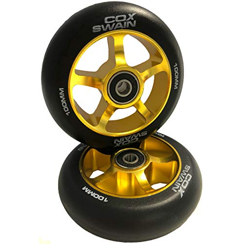 Cox Swain 2 STK. X-385 High End 100mm Stunt Scooter Rollen Alu Core - ABEC 11 Lager