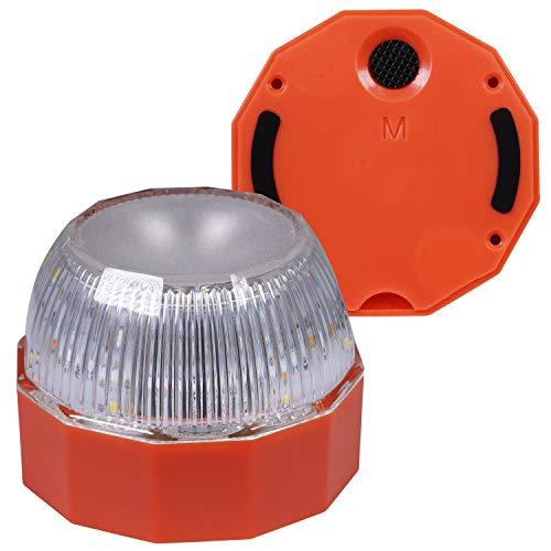 OnReal Linterna de Camping Resistente al Agua, batería LED Desmontable, luz de Camping, 2 Modos de luz, Base magnética - Linterna portátil para Senderismo, Pesca y emergencias