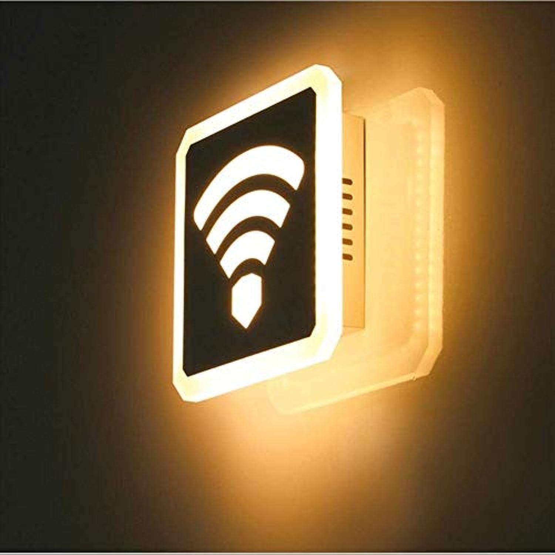 YWJWJ 22W WiFi Simpled Moderna Wandleuchte