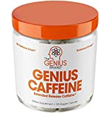 SMART CAFFEINE - Genius Caffeine offers sustained release, high quality NEWCAFF that stands above other caffeine pills that provide short-term energy and crashes later. Enhance your mind with a natural brain booster and pre workout aid that can help ...