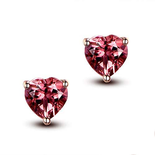 Blisfille Pulsera de Esmeralda Diamantes de 0.47ct Joyería Pulsera Pareja Cuerda Pulseras Mujer 18K Pulseras de Oro