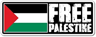 Free Palestine Sticker Flag Bumper Water Proof Vinyl