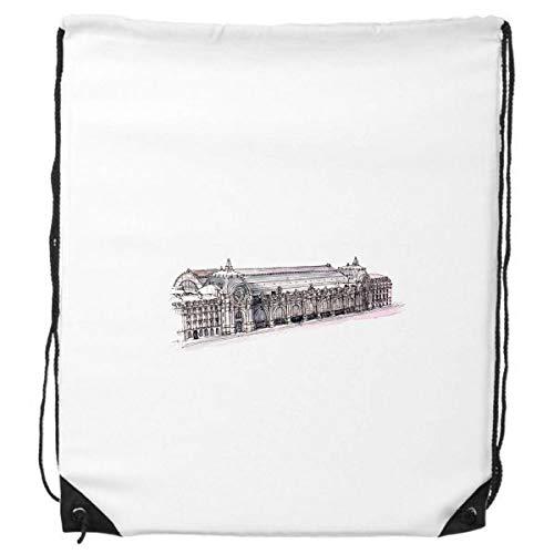 DIYthinker Orsay Museum in Paris Frankreich-Rucksack Einkauf Geschenk Sporttaschen