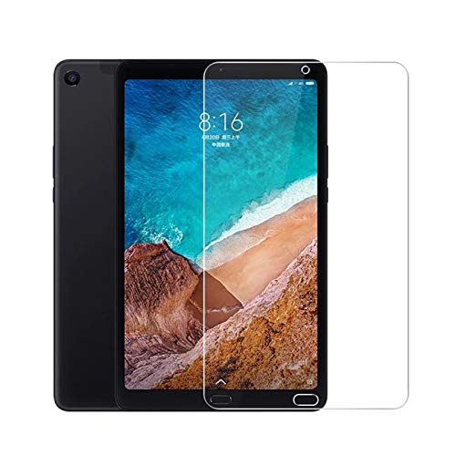 Lobwerk Schutzfolie für Xiaomi Mi Pad 4 Plus 10.1 Zoll Bildschirmschutz Folie klar transparent Anti-Fingerprint (1x Schutzglas)