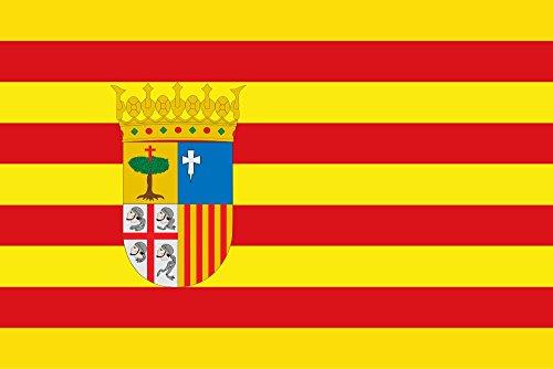 Durabol Bandera de Aragon 150*90 cm Satén+Regalo una pegatina