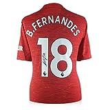 exclusivememorabilia.com Camiseta del Manchester United firmada por Bruno Fernandes
