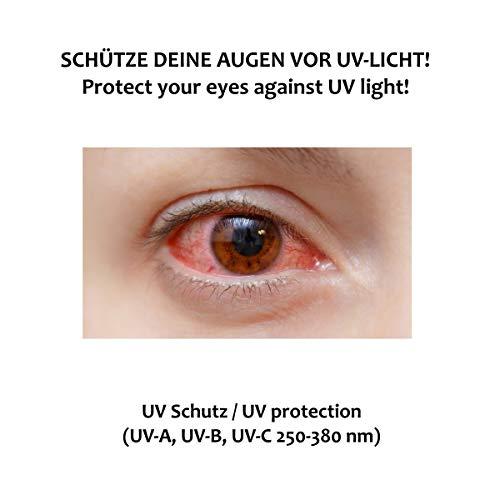 SafeLightPro Lichtschutzbrille für die HPL/IPL Haarentfernung - 5