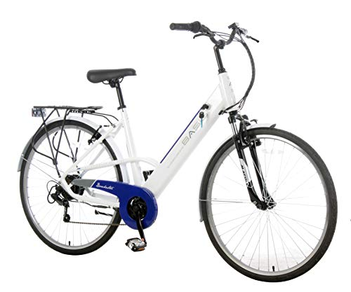 Basis Dorchester Step Through Integrated Electric City Bike