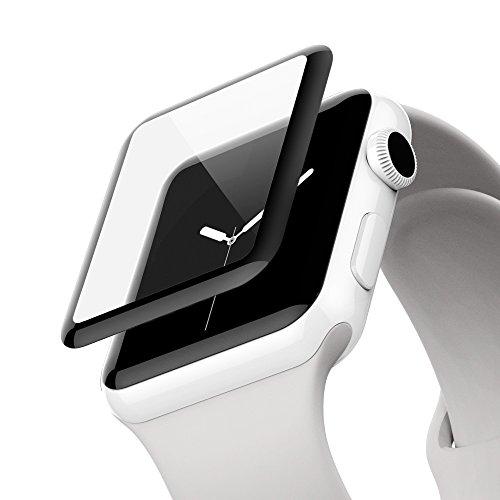 Belkin Protection d'Écran Imperméable ScreenForce Ultracurve pour Apple Watch Series 2 et Series 3 (42 mm)