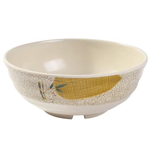 ZH Ramen/Céréale/Bol à soupe Mélamine Imitation Porcelaine Filet de solidité 6,8 pouces Un ensemble de 5 (taille : 7.8inches)