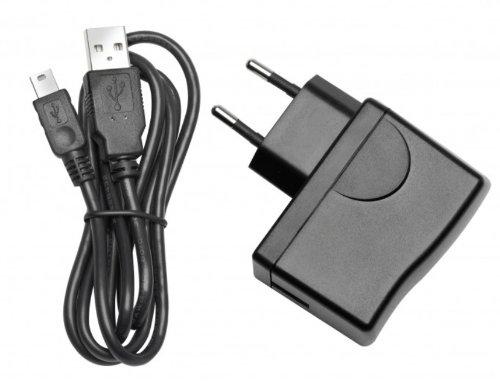 Blaupunkt 1081234011001 Netzlader (230V) mit USB-Kabel für Travel Pilot 40/50/70
