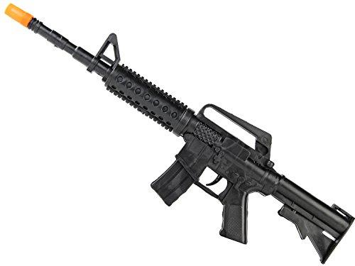 Nick and Ben Kinder Spielzeug Ratter Gewehr mit tollem Sound 44 cm