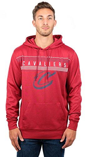 Ultra Game NBA Cleveland Cavaliers Mens Fleece Midtown Pullover Sweatshirt, Team Color, Large