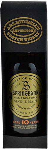 Springbank Whisky 10 Jahre 0,05l Miniatur + Geschenkpackung