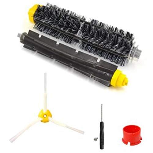 SODIAL Poils Durs et Brosse à Batteur Flexible pour 600700620630 Accessoires D'Aspirateur à Brosse LatéRale