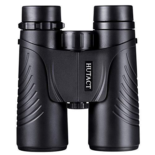 HUTACT Weitwinkel Fernglas Testsieger, 10x42 Professionelles Wanderer HD Vogelbeobachtungsteleskop – mehr klares Licht und Details – Wasserfest und Staubfest