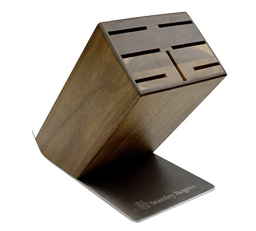 Stanley Rogers Bloque para Cuchillos, Goma, marrón, 235x120x200mm