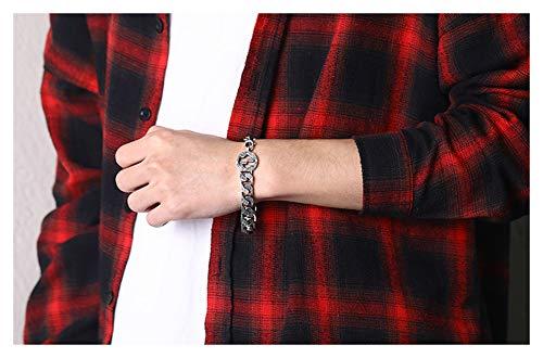 925 zilveren armband, herenarmband, dominerende armband, sieraden, accessoires, ketting voor jongensvriend, cadeau-souvenir