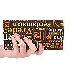 Borsa personalizzata per porta carte di credito, portafogli lunga, portafogli lunga, porta carte di credito, diverse lingue personalizzate
