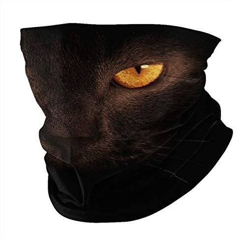 Antokos Cat Unisex reutilizable ajustable cara cubierta bufanda protección UV cuello pasamontañas 3d impreso variedad cabeza bufanda