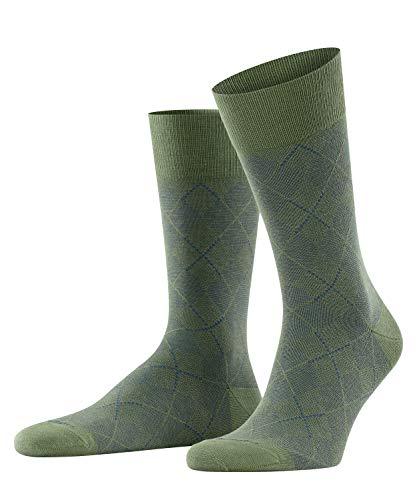 Burlington Herren Carrington Socken, grün (Khaki 7217), 40-46