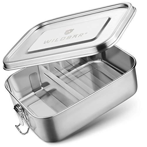 WILDBÄR® - Premium Edelstahl Brotdose...