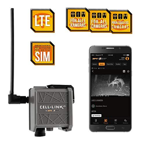 Spypoint Cell-Link Adaptador Universal para Conexión Móvil a Cámaras de Vigilancia – Transmisión Inalámbrica para Cámara Espía – Accesorio para Cámaras de Caza – Descarga de Imágenes Remota al Móvil