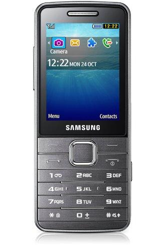 'Samsung GT-S56112.491g Silber–Handy (Dual SIM, Wecker, Taschenrechner, Kalender, Spiele, Notizen, A2DP, FTP, HFP, HSP, OPP, spp, 3G, Edge, GPRS, GSM, HSDPA, LED, MP3)