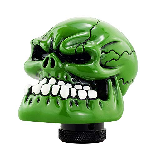 Mavota Green Skull Manual Automatic Gear Shift Knobs