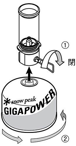 snowpeak(スノーピーク)『リトルランプノクターン(GL-140)』