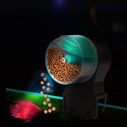 Easy Feed-Futterautomat Fisch Timer Zierfische im Aquarium Fischfutter Automatisierte Futterspender Creative Automatische Fisch-zuführung Aquarien infactory Fischfutterautomat Zeitschaltuhr Feeder