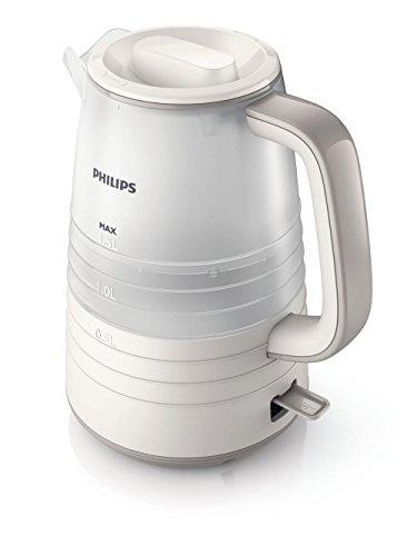 Philips 8710103750703 HD9336/21 Teekanne, Kunststoff, 1.5 liters, Beige, Weiß