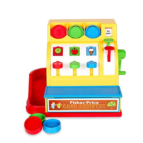 Product Image of the Basic Fun Fisher-Price Classic Toys - Retro Cash Register - Great Pre-School...