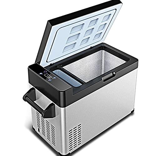 GNLIAN HUAHUA refrigerador 30/40/55/65L DC12V / 24V Coche Refrigerador Congelador de Profundidad Camping Picnic Picnic Mini refrigerador Refrigerador Refrigerador Nevera (Color Name : 65Liters)