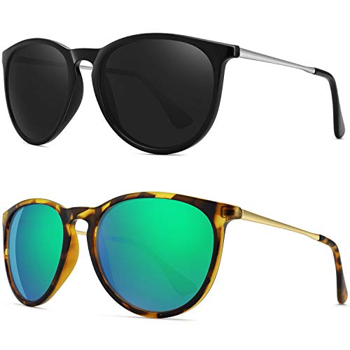 WOWSUN Polarized  Sunglasses 2-Pack
