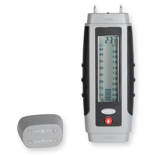 Testeur d'Humidité Murs - Humidimètre Affichage Digital - Température - Ampoule Led – Testeur d'humidité pour...