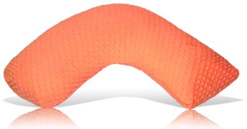 Luna Lullaby Bosom Baby Nursing Pillow, Orange Dot