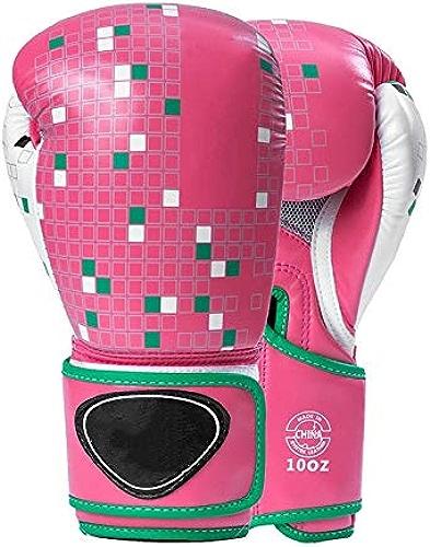 L Gants de Boxe Adultes MMA, entraîneHommest Sanda Masculin et féminin, Combats de Muay Thai, Gants de Boxe voiturerés