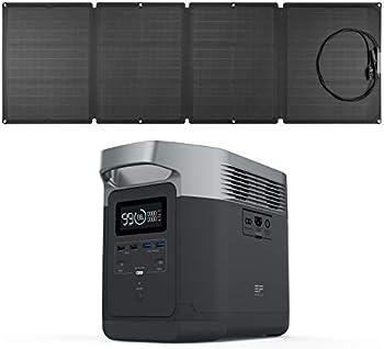 Ef Ecoflow Efdelta 1260Wh Solar Generator with 110W Solar Panel