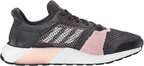 Adidas Performance Boost Ultra Calle zapatillas de running, gris / blanco / púrpura resplandor, 5 M