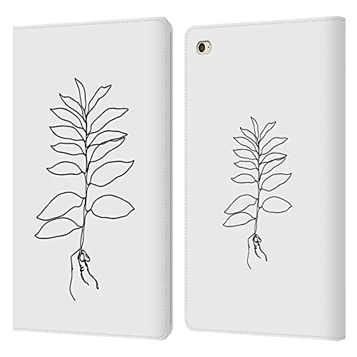 Head Case Designs Officially Licensed LebensArt Hand And Leaf Minimalism Leather Book Wallet Case Cover Compatible With Apple iPad mini 4