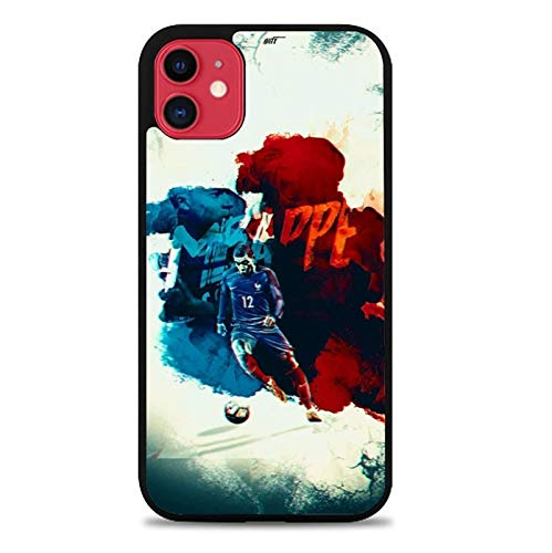 PEWORWEY Case/Handyhülle/Hülle/Coque/Custodia/Carcasa/Cover/Shell,Mbappe DIY Phone Case for Samsung Galaxy S6, Kylian-Mbappé,[M687-6033]